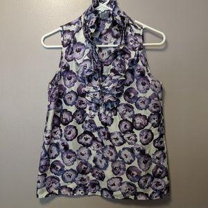 J.Crew ruffle bloom blouse